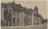 VERKAUFT !!!   AK Jena Kaiserl. Postamt und Schillerstrasse 1928 RAR