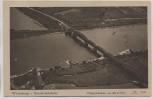 AK Wittenberge Eisenbahnbrücke Fliegeraufnahme Luftbild 1941