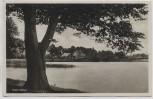 AK Klein-Köris Ortsansicht vom See 1933