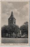 AK Foto Altlandsberg Kirche und Kriegerdenkmal Auto 1935