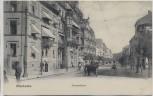 AK Wiesbaden Taunusstrasse mit Pferdekutsche 1904