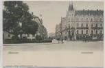 AK Hannover Luisenstrasse mit Grand Hotel Hartmann 1910 RAR