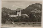 AK Foto Sonthofen Burg-Kaserne 1950