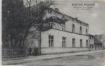 VERKAUFT !!!   AK Gruß aus Nossdorf Strasses Restaurant b. Forst Lausitz 1910 RAR