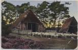 AK Lüneburger Heide Schafstall b. Wörme Handeloh 1931