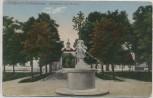 AK Luftkurort Oranienbaum Marktplatz und Kirche 1918