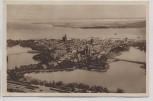Ganzsache Stralsund Luftbild Reichswinterhilfe 1935