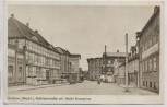 AK Grabow (Meckl) Elde Mühlenstraße mit Hotel Kronprinz 1940