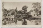 AK Grabow (Meckl) Alte Elde mit Bürgergarten 1940