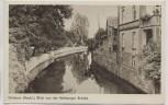 AK Grabow (Meckl) Blick von der Rehberger Brücke 1940