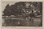 AK Grünheide (Mark) Werlsee Insel Lindwall Menschen und Zelte 1925