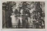 AK Foto Prierosbrück Ausfahrt zum Spreewald b. Heidesee 1932