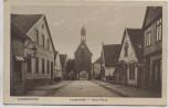 AK Quakenbrück Langestraße mit Hohe Pforte 1910