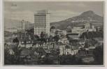 AK Jena Ortsansicht mit Zeiss Hochhaus und Bahngleis 1937
