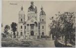 AK Radymno zerstörte Kirche 1. WK Galizien Polen 1915 RAR