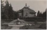 VERKAUFT !!!   AK Foto Straubing Villa mit Brunnen 1928 RAR