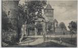 AK Lübeck Alte Stadtmauer am Burgtor 1910