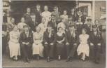 AK Foto Weimar Studentika Vereinigung Mütze mit Band Gruppenbild 1920 RAR