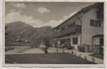 AK Foto Terrassen Cafe Dreher am Hessing b. Bayerisch Gmain Bad Reichenhall 1937