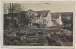 AK Foto Riechheim Gasthof Ortlof b. Elleben viele Schafe Thüringen 1943