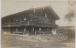 AK Foto Rohrauer Haus zwischen Schliersee und Tegernsee 1920 RAR