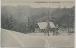 AK Zöblitz Hüttstadtmühle im Winterkleid b. Marienberg Sachsen 1910