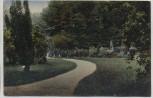 VERKAUFT !!!   AK Oschatz Stadtpark 1919