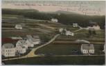 AK Gruss aus Pobershau Erzgebirge Blick auf Försterei b. Marienberg 1910