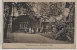 AK Posterholungsheim Grünbach im Vogtland mit Menschen 1923 RAR