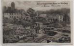 AK Domnau Domnowo zerstörter Marktplatz 1. WK Ostpreussen Russland Ostpreußenhilfe 1917