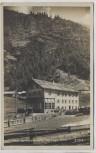 AK Foto Zwieselstein Gasthof Post b. Sölden Tirol Österreich 1927