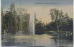 AK Nordhausen Fontaine im Stadtpark 1916