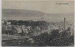 VERKAUFT !!!   AK Heiligenstadt Eichsfeld Ortsansicht mit Bahngleis Fabrik Drahtwerk 1915 RAR