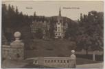 AK Sinaia Pelesch-Schloss Karpaten Rumänien Feldpost 1917
