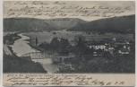 VERKAUFT !!!   AK Oelknitz Blick ins Saaletal vom Trompeterfelsen aus mit Brücke und Gasthof b. Rothenstein Jena 1904 RAR