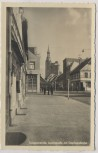 AK Foto Tangermünde Leninstraße mit Stephanskirche 1952