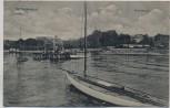 VERKAUFT !!!   AK Alt Heikendorf Strandpartie mit Yacht Boots-Werft Waap 1910 RAR