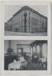 AK Dresden Pirnaische Vorstadt Restaurant Hotel Angermann Pillnitzer Straße 54 1936 RAR