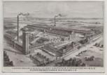 AK Oldenburg Fleischwarenfabrik Industriestraße 1930