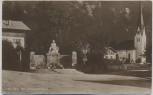 AK Foto Bayrischzell Kriegerdenkmal Bahnpoststempel 1937