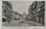 AK Foto Zweibrücken Fruchtmarkt Lammstraße mit Ludwigsschule 1939 RAR