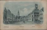 VERKAUFT !!!             AK Nabburg Paradeplatz Rathaus bei Schwandorf T-Stempel 1914