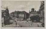 AK Foto Dresden Pirnaische Vorstadt Pirnaischer Platz Straßenbahn Menschen 1926