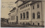 AK Focșani Focsani Justizpalast Westmoldau Rumänien 1917
