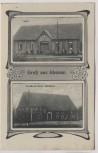 AK Gruß aus Idensen Gasthaus Matthias b. Wunstorf 1910 RAR