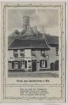 AK Gruß aus Godesberg am Rhein Gasthof Zur Lindenwirtin mit Gedicht 1930