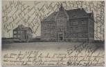 AK Ohligs Neue Realschule b. Solingen 1904