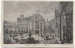AK Elberfeld Wuppertal Neumarkt mit Rathaus Straßenbahn 1915