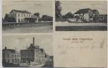 AK Gruß aus Capellen an der Erft Kapellen (Grevenbroich) Bahnhof Mühle Brauerei Feldpost 1915