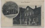 AK Gruss aus Rostorf Waidmannsruh mit Laubenpartie b . Kellinghusen 1910 RAR